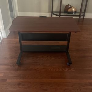 Height Adjustable Desk With Wheels And Cable Organizers for Sale in Alpharetta, GA