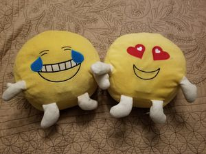 Talking Emoji Kins pillows for Sale in Williamsburg, VA