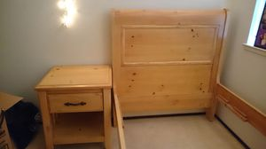 Solid Pine Wood Bedroom set for Sale in Union City, CA