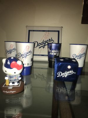 Lot of Dodgers collectibles for Sale in Chino, CA