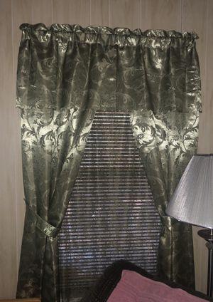 Floor length curtains for Sale in Arlington, TX
