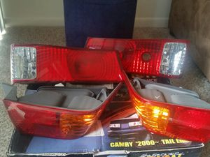 2000 Toyota Camry, LE, XLE Driver & Passenger RH + LH Tail / Reverse Lights for Sale in Silver Spring, MD