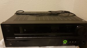 Onkyo 5.1 A/V Receiver HT-R593 for $100, with remote and Spotify ready. for Sale in San Diego, CA