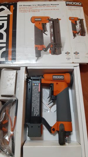Rigid nailgun 23 gauge 1 3/8, for Sale in Rockville, MD