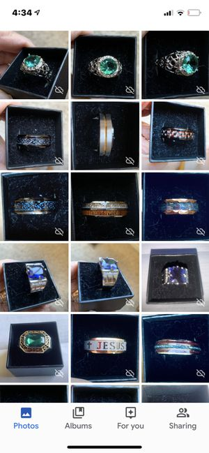 MEN'S RINGS SZ 10, 11 & 12 for Sale in Spanish Springs, NV