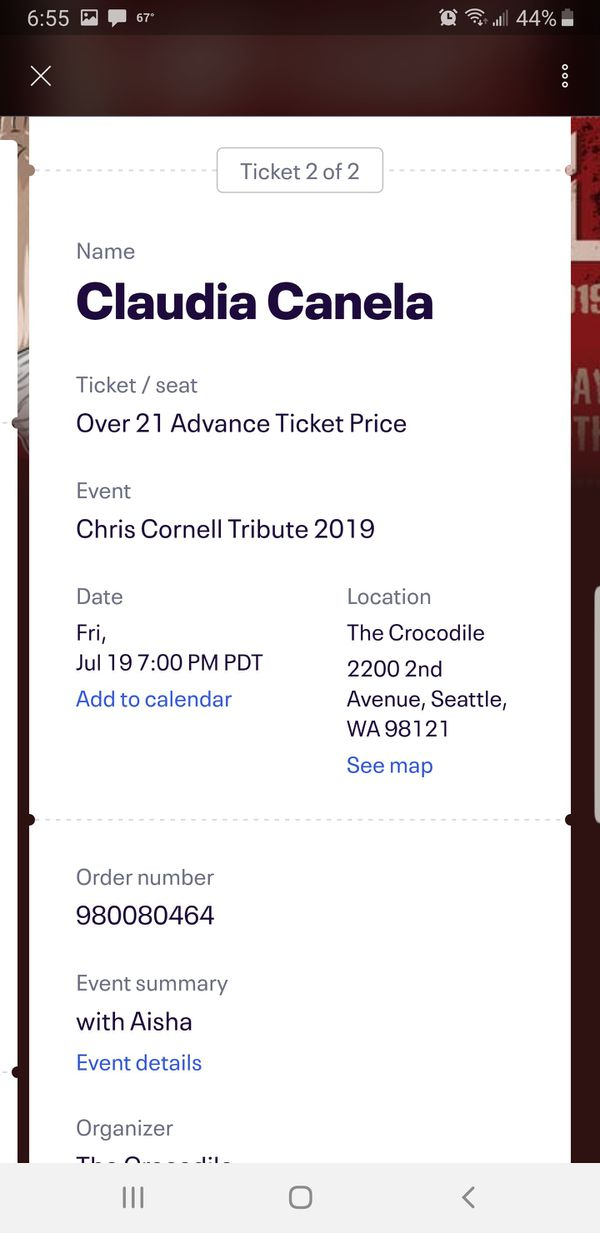 Chris Cornell tribute band tickets
