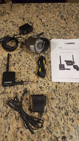 Lorex live wireless digital security camera. 1 for Sale in Clovis, CA