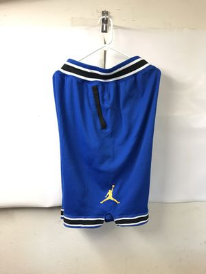 Jordan Retro Varsity Hoop Basketball Shorts Blue Men's Largef for Sale in Portland, OR