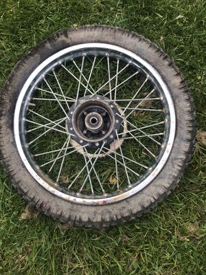 Dirt bike wheel for Sale in Parma, OH