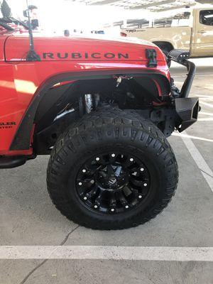 Jeep JK Fuel Wheels for Sale in Denver, CO