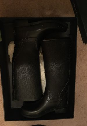 Black Kenneth Cole Rain Boots for Sale in Hyattsville, MD