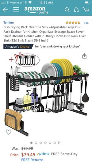 Brand new over the sink dish rack for Sale in San Jose, CA