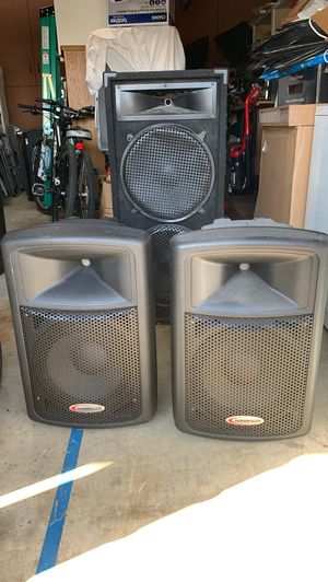 Harbinger Active Powered PA speakers for Sale in San Jose, CA