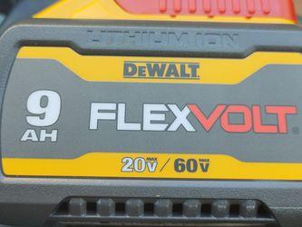 DeWALT 20/60V Max FLEXVOLT Li-Ion 9.0AH Battery for Sale in Meridian,  ID