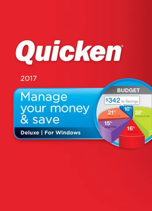 Quicken 2017 Deluxe for Windows and Mac for Sale in New York, NY