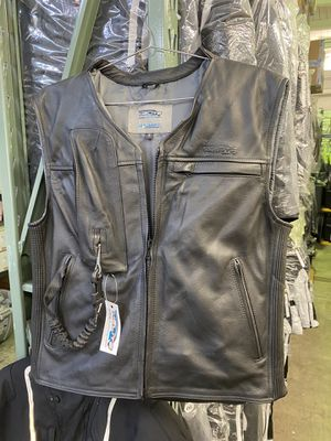 Helite Motorcycle Airbag Protection Leather Vest for Sale in Berkeley, CA