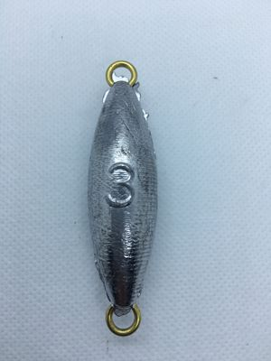 Dolphin tackle torpedo 3 oz fishing sinker lead weight for Sale in Yorba Linda, CA