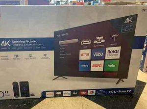 "Brand New TCL ROKU TV! 50"" w/ warranty. Open box B6 for Sale in Houston, TX"