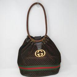 Rare Vintage Gucci Brown G Suede Bag for Sale in Rockvale,  TN