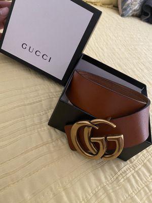 Iconic Gucci Belt GG 115 cm for Sale in San Fernando, CA