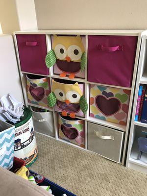 Nice shelf with storage baskets for Sale in La Habra Heights, CA