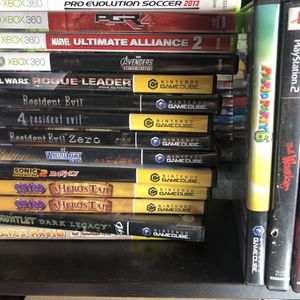 Gamecube Games For Trade For Other Games for Sale in Los Angeles, CA