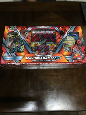 Pokemon IncineroarGX premium box for Sale in San Jose, CA