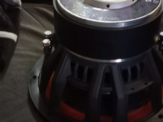Diablo 12'inch Speaker Peak Power 7,500w Rms Power 2,800w Come With The Box for Sale in Irving,  TX