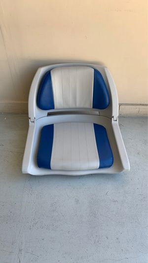 Cushioned Fold-Down, Molded Fishing Seat for Sale in Clermont, FL