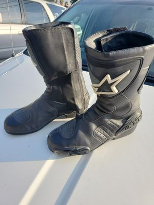 Motorcycle boots size 9 for Sale in Colton, CA