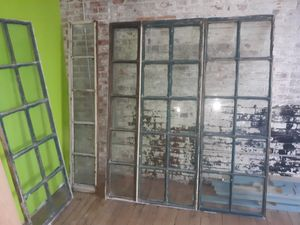 4 antique single pain glass windows for Sale in Delevan, NY