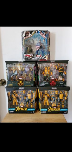 MARVEL LEGENDS. HYDRA .AIM ..CAPTAIN AMERICA for Sale in Los Angeles, CA