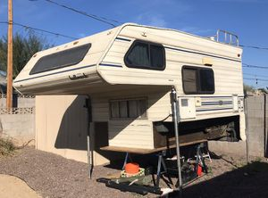 Cab-over Long Bed Truck Camper for Sale in Goodyear, AZ