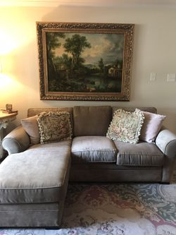 Weir's custom sofa with chaise for Sale in Dallas,  TX