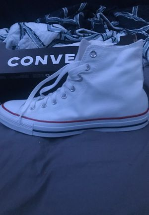 Converse optical white mens size 9 for Sale in Azusa, CA