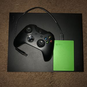 Xbox One X 1TB 4k for Sale in Los Angeles, CA