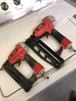 Pneumatic nailers 16 and 18 gauge for Sale in Chino Hills, CA