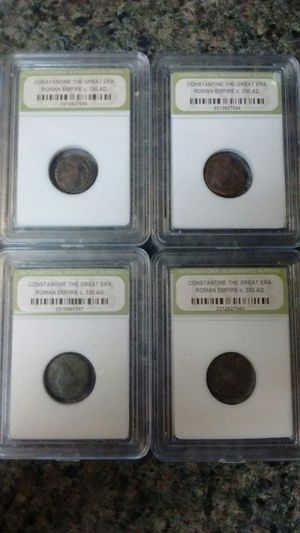 Ancient coins (Roman Empire c.300 AD) $10 each for Sale in Durham, NC