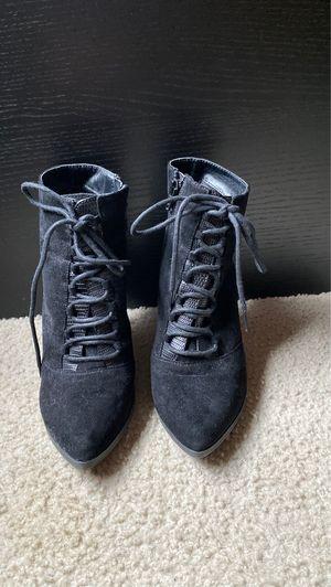 Suede Black Snake Print Heels for Sale in Fort Washington, MD