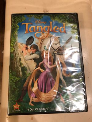 Disney Tangled DVD for Sale in Salt Lake City, UT
