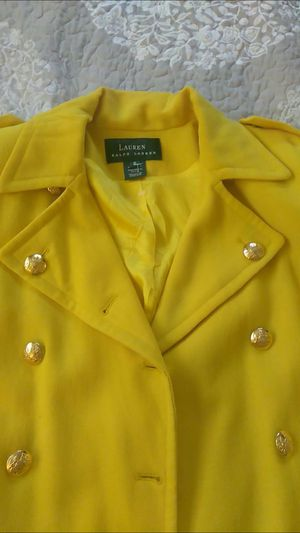 Ralph Lauren's dress jacket very light quality fabric limited edition asking only 30 firm on the price thank you size 6-8 for Sale in Tampa, FL