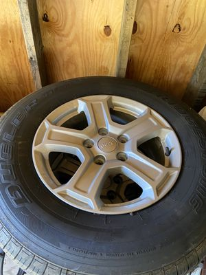 Jeep Wrangler wheels/tires for Sale in Beaver Falls, PA