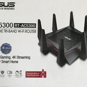 ASUS AC5300 Gaming Router for Sale in Gilbert, AZ