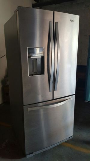 Whirlpool stainless steel refrigerator for Sale in Philadelphia, PA