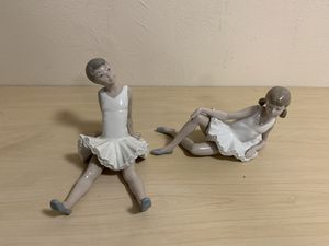 Nao by Lladro Sitting Dancer Figurines for Sale in Los Angeles, CA