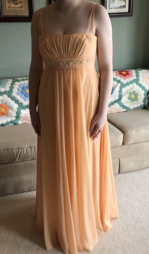 Peach Bridesmaid Dress-Size 10 for Sale in Portland, OR