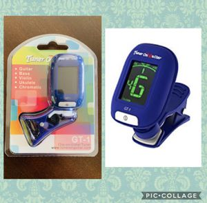 Tuner On Guitar - Clip-On Tuner for All Instruments, Guitar, Ukulele, Bass, Violin, Chromatic Tuning Modes, Fast & Accurate, Easy to Use, Auto Power for Sale in Azusa, CA