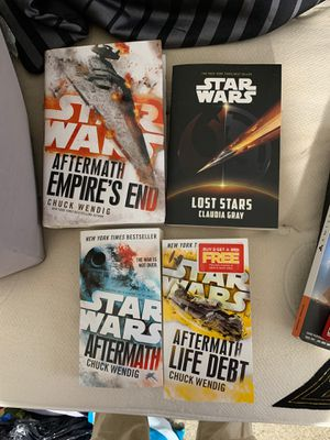 New star wars books for Sale in Chattanooga, TN