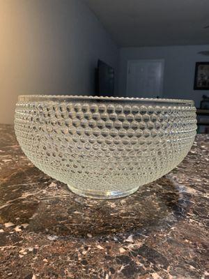 Beaded glass bowl for Sale in Bentonville, AR