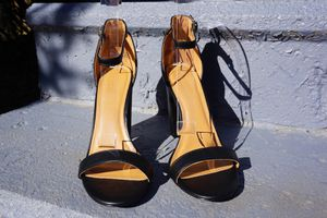 Leather Ankle Strap Heel Sandals RORY faux leather Size 11 for Sale in Bethesda, MD